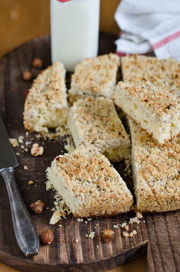 Gâteau de miette photos stock