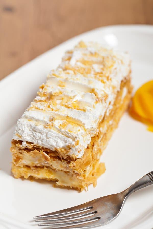 Gâteau de napoléon image libre de droits