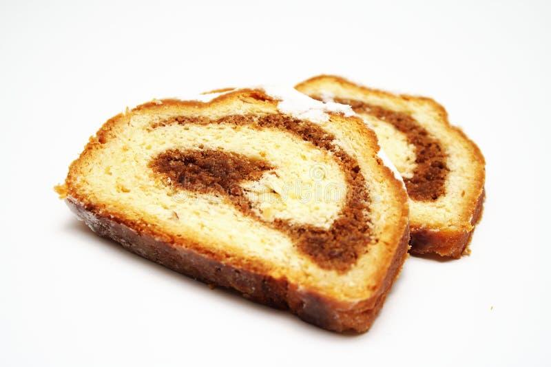 Gâteau de noix image libre de droits