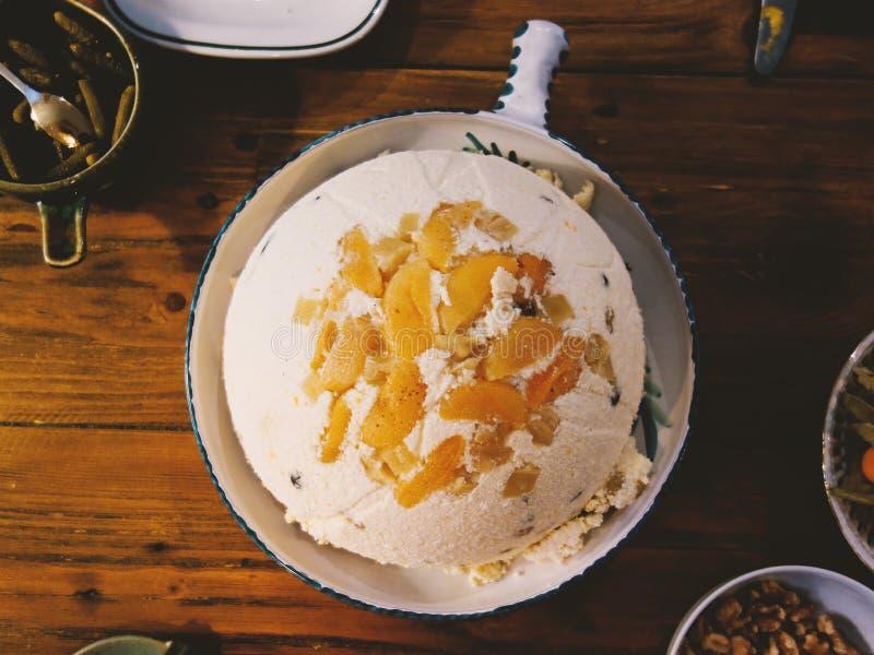 Gâteau de Pasha image stock