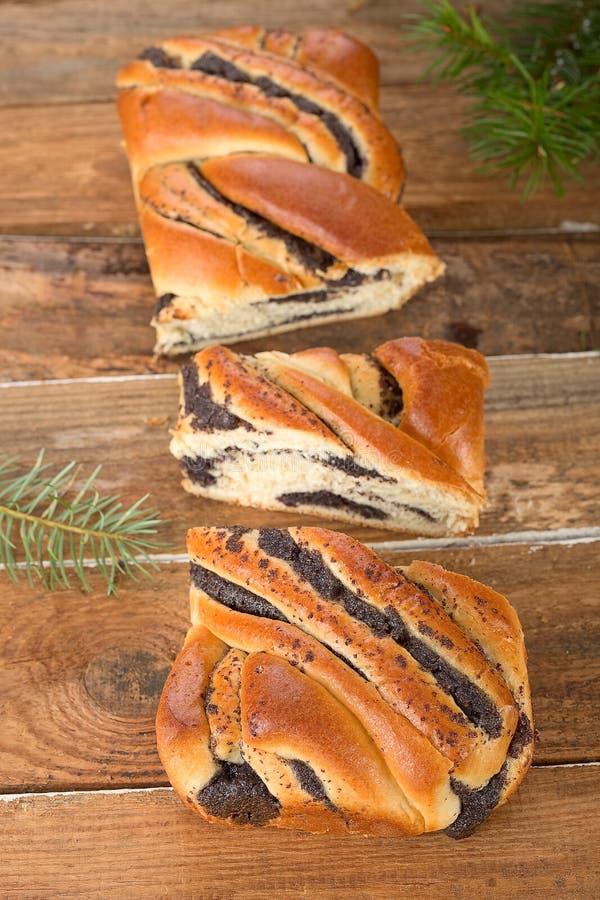 Gâteau de petit pain de clou de girofle image libre de droits