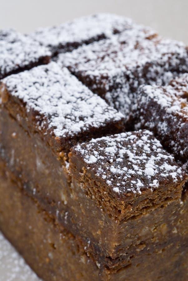 Gâteau de pudding photographie stock libre de droits