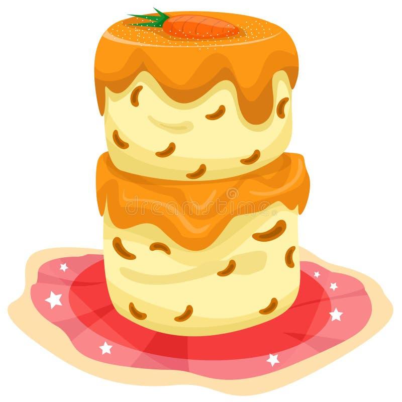 gâteau de raccord en caoutchouc illustration stock