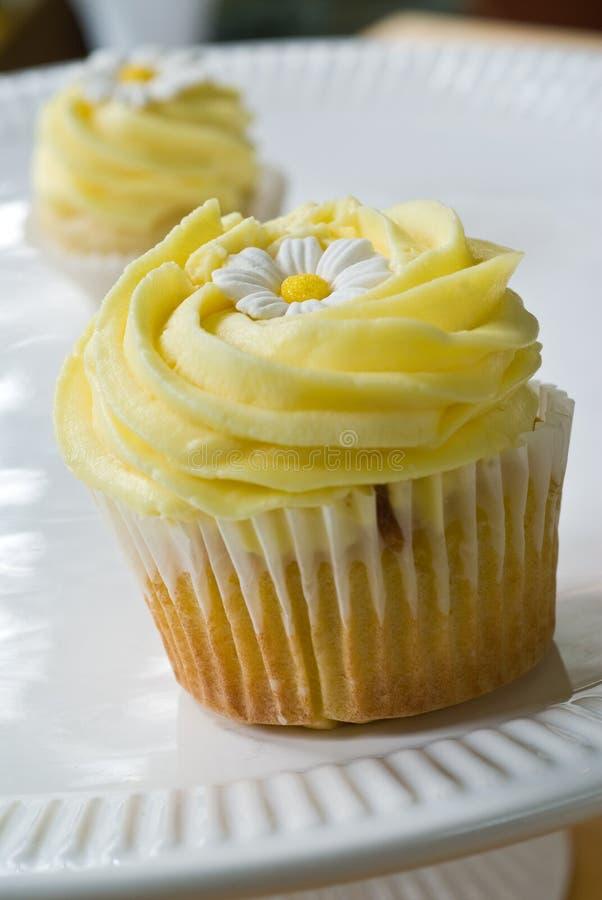 Gâteau de remous de citron photographie stock libre de droits