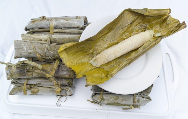 Gâteau de riz de Suman images libres de droits