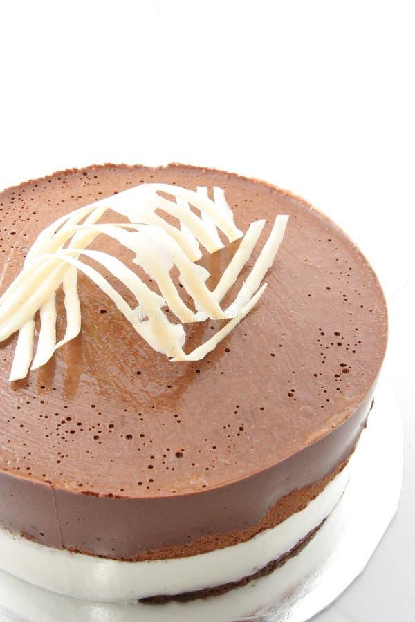 Gâteau de souris de chocolat photo libre de droits