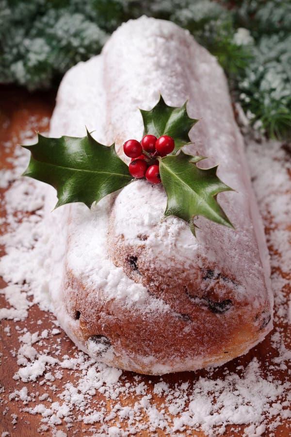 Gâteau de Stollen image stock