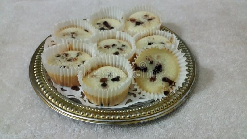 Gâteau de tasse de chocolat photographie stock