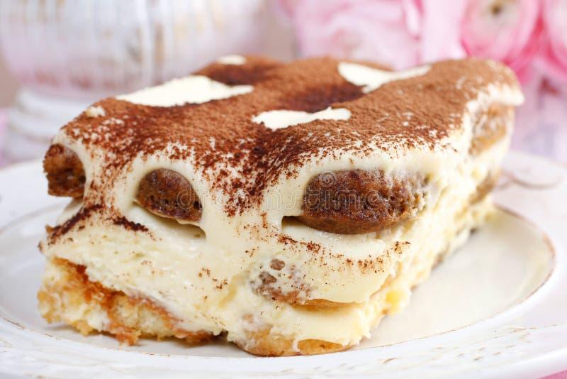 Gâteau de Tiramisu photos stock