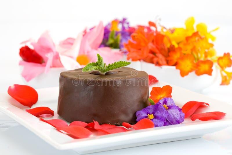 Gâteau doux photographie stock