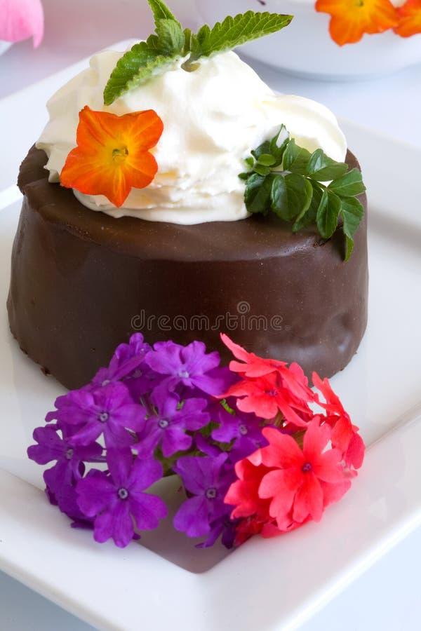 Gâteau doux image stock