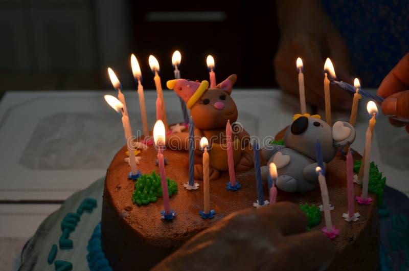 Gâteau drôle photos libres de droits