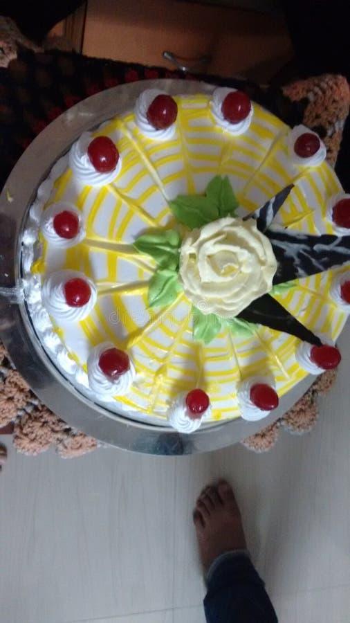 Gâteau effectué par maison photographie stock libre de droits