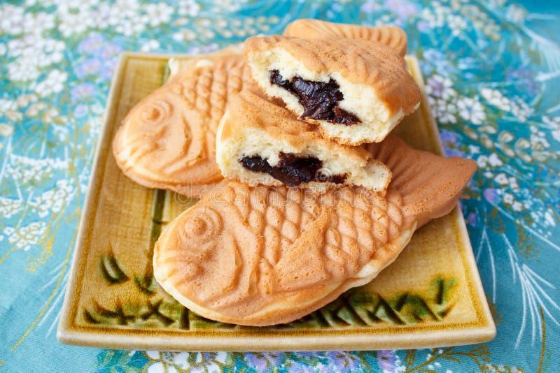 G teau en forme de poissons traditionnel japonais taiyaki for Poisson japonais nourriture