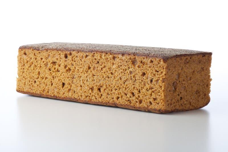 Gâteau entier de déjeuner d'isolement photos stock