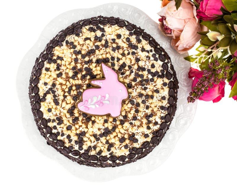 Gâteau fait maison pour la célébration de Pâques photos libres de droits