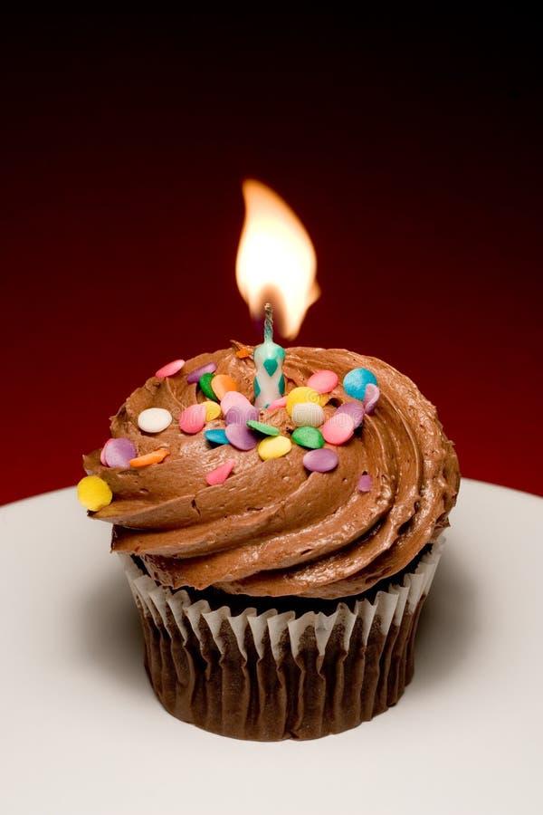 Gâteau II d'anniversaire photo stock