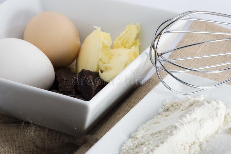 gâteau II de Pré-éponge photographie stock