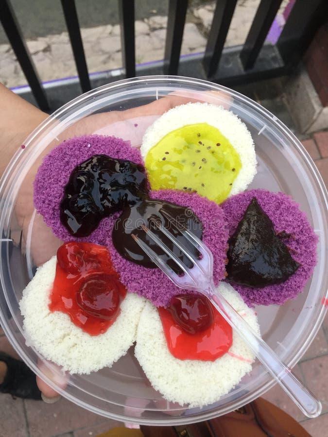 Gâteau mûr délicieux de poire de Tianjin photographie stock libre de droits