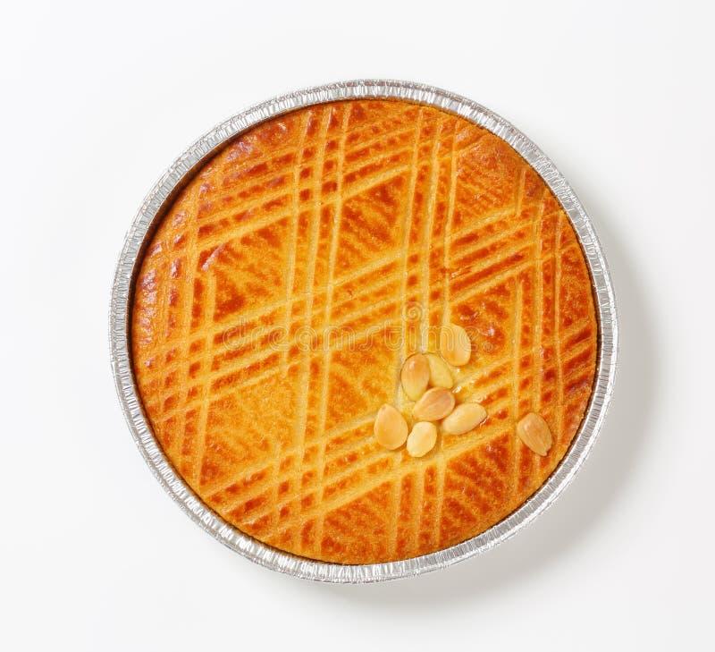 Gâteau néerlandais de beurre (Boterkoek) photographie stock