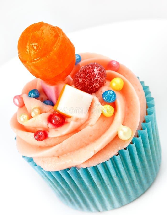 Gâteau parfait de cuvette douce image stock