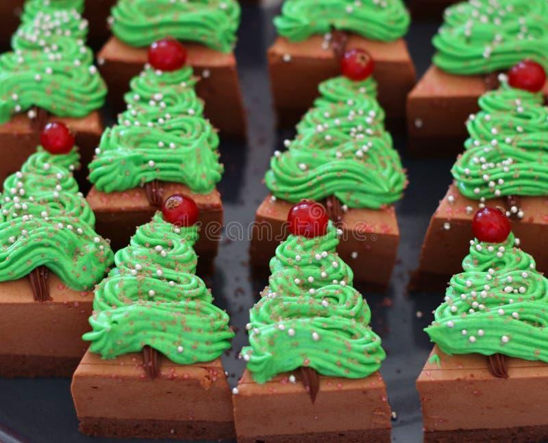 Gâteau spécial de Noël photographie stock
