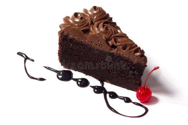 Gâteau sur un fond blanc photos stock