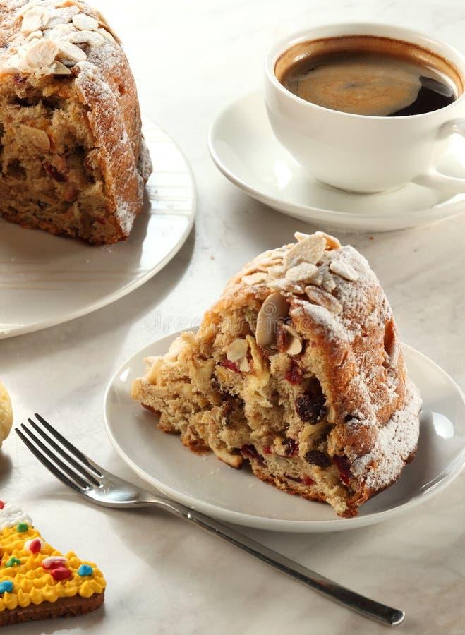 Gâteau volé de Noël photos libres de droits