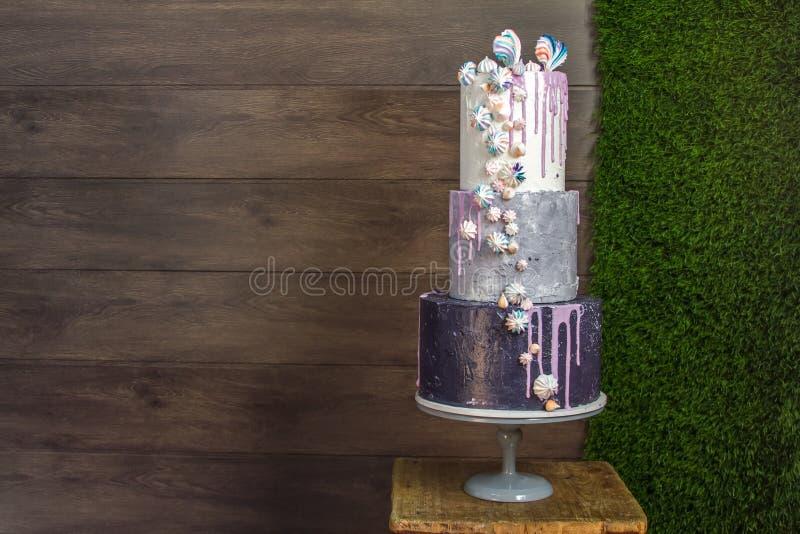 Gâteaux à passer commande photographie stock libre de droits