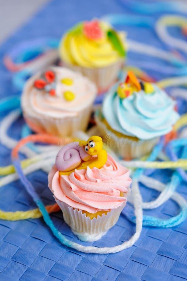 Gâteaux image stock
