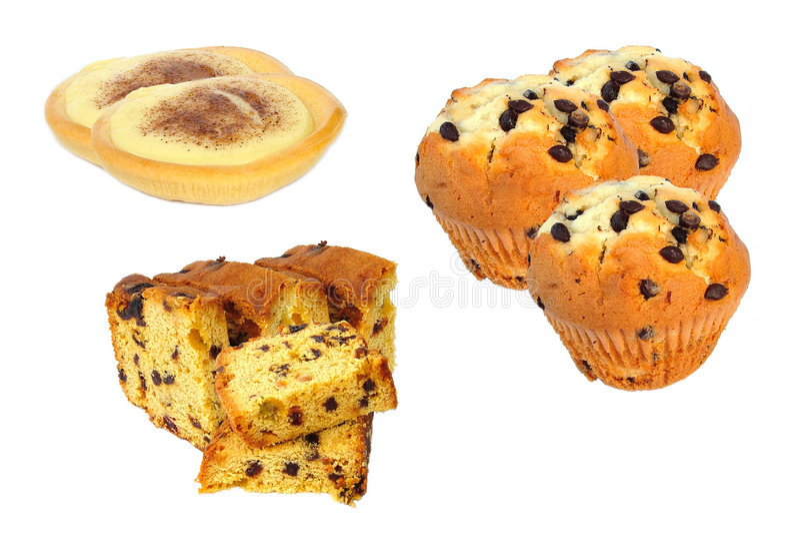 Gâteaux photo libre de droits