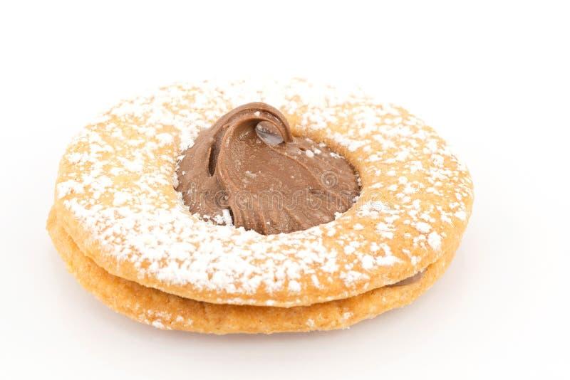 Gâteaux aux pépites de chocolat photos libres de droits