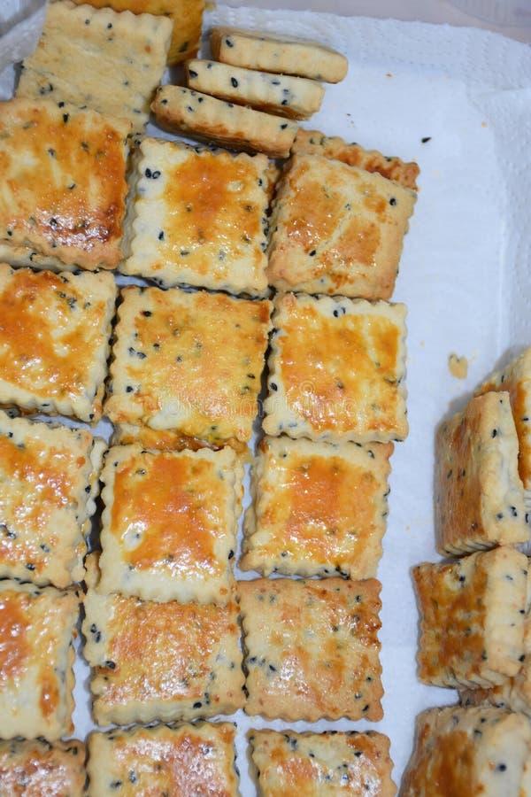 Gâteaux cuits au four photo libre de droits