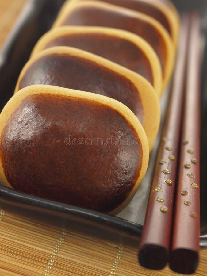 Gâteaux d'haricot rouge photo libre de droits