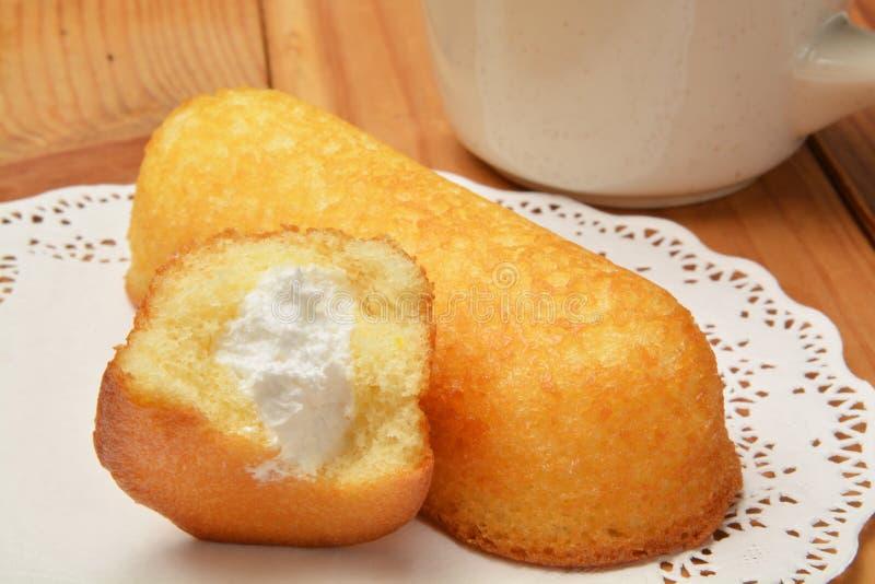 Gâteaux de casse-croûte photo stock