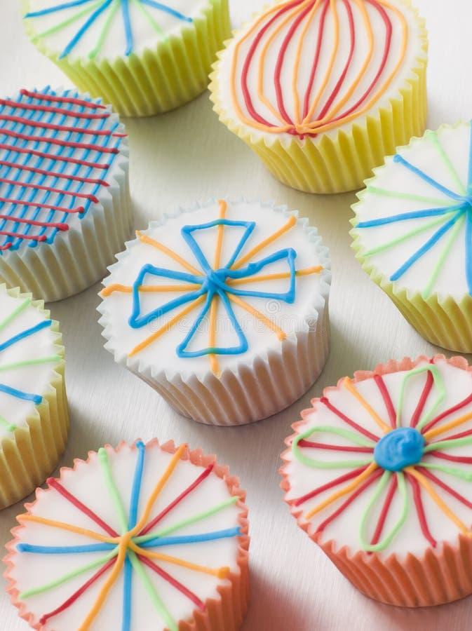 Gâteaux de cuvette de Kaliedoscope photo libre de droits