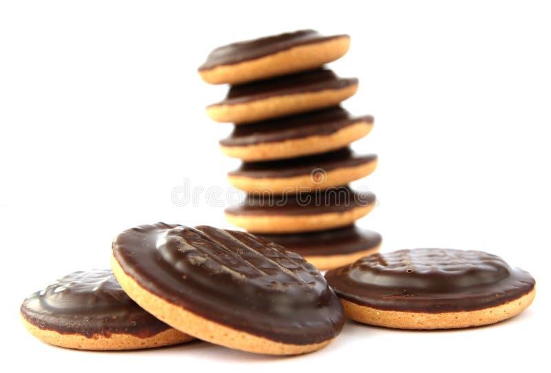 Gâteaux de Jaffa - biscuits doux traditionnels images libres de droits