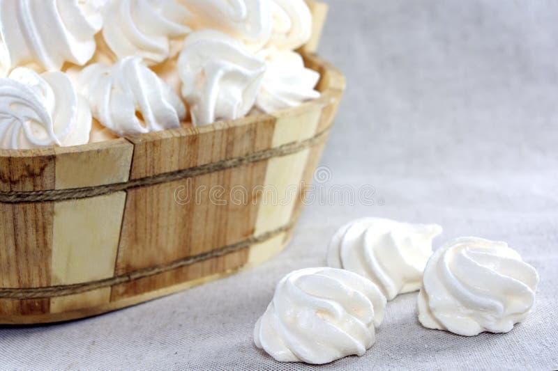 Gâteaux de meringue images libres de droits