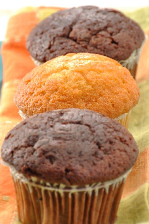Gâteaux doux. photo stock