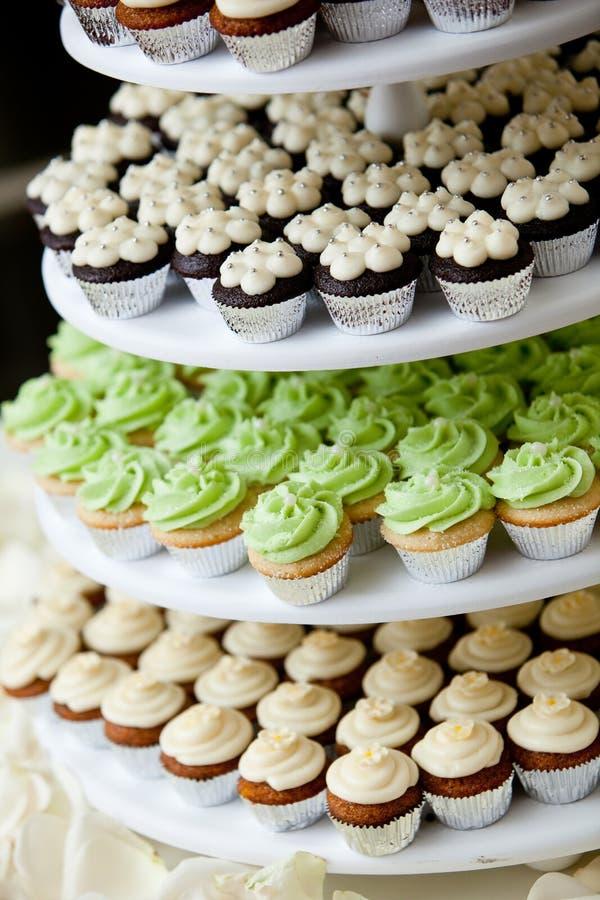 Gâteaux miniatures photos libres de droits