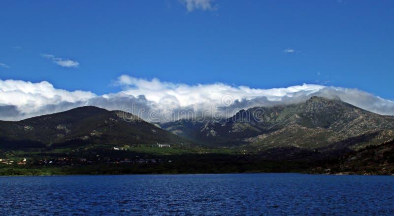 Góry centrum Iberyjski półwysep, Hiszpania zdjęcia royalty free