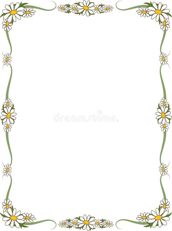 Gänseblümchen-Rand