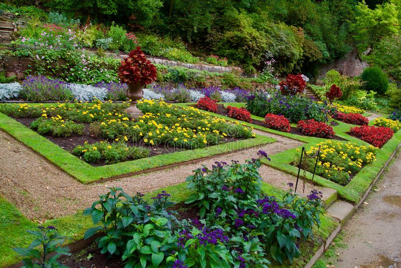 Gärten der Mühle lizenzfreie stockbilder