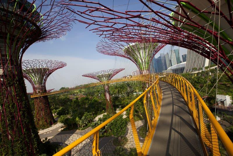 Gärten durch die Bucht lizenzfreie stockfotos