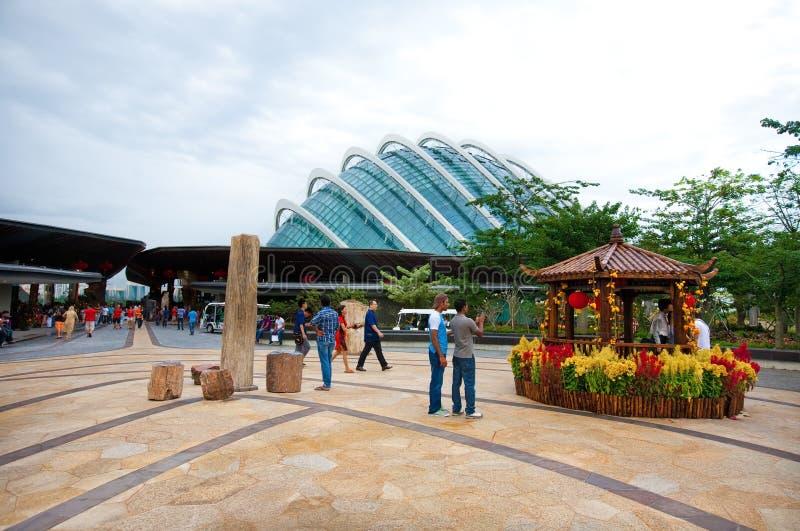 Gärten durch die Bucht, Marina Bay SINGAPUR lizenzfreies stockfoto