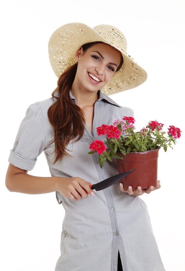 Gärtner stockbild
