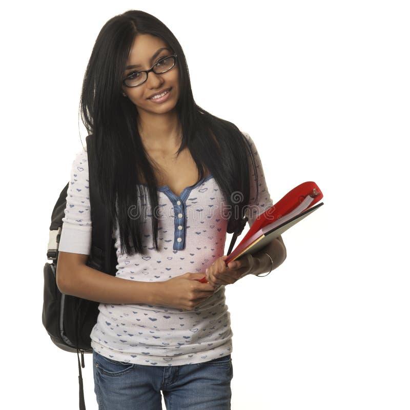 Gå baksidt till skolahögskolan. royaltyfria bilder
