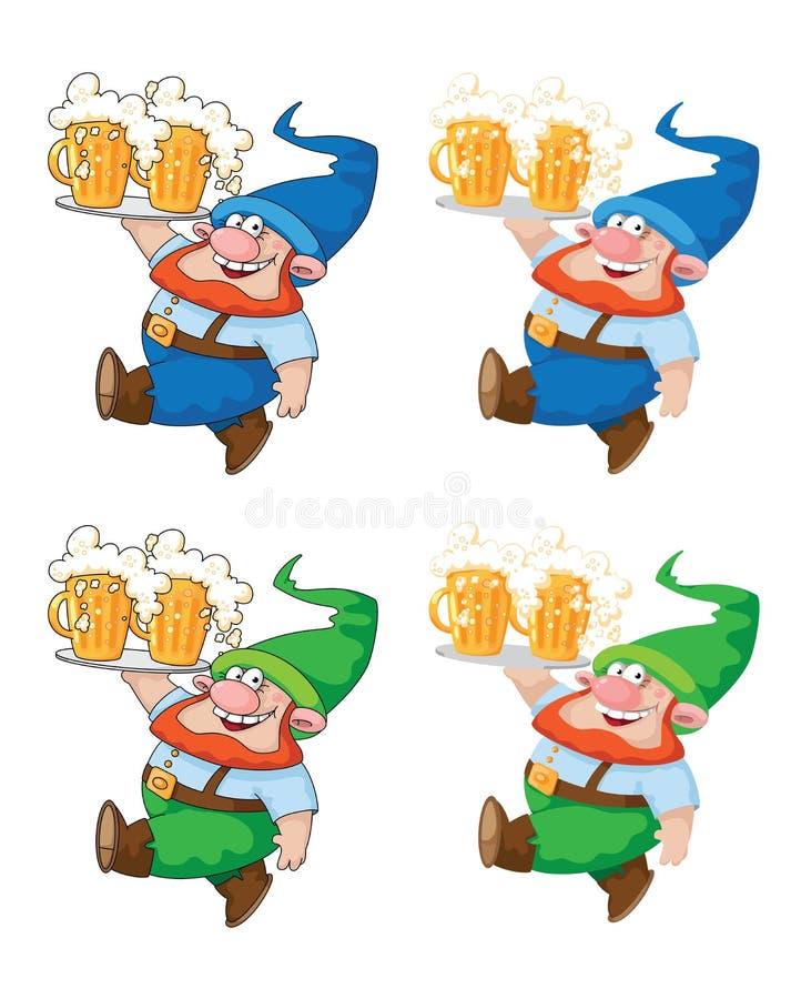 Gå gnome med öl