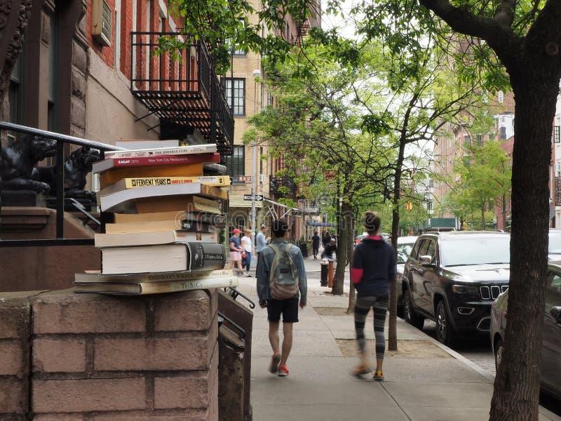 Gå i Soho New York City arkivbilder
