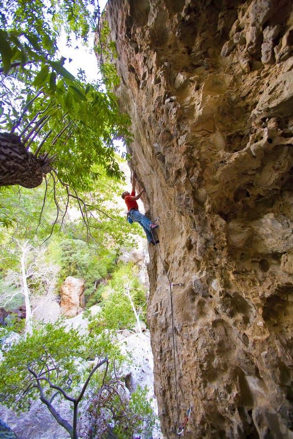 gående handtag för klättrare därefter arkivfoto